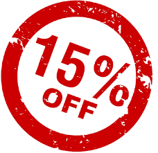 15% off ends today!  Be sure to visit our site to save the most on your order of $25+!